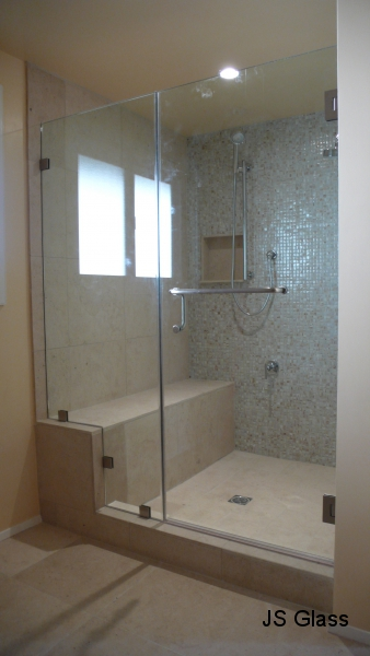 Frameless Shower Door Js Glass